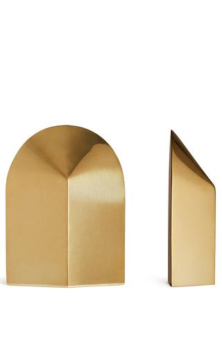 Medium aerin gold archer bookends