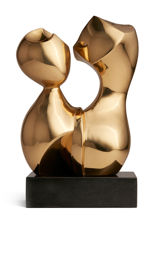 Medium aerin gold bregenz sculpture