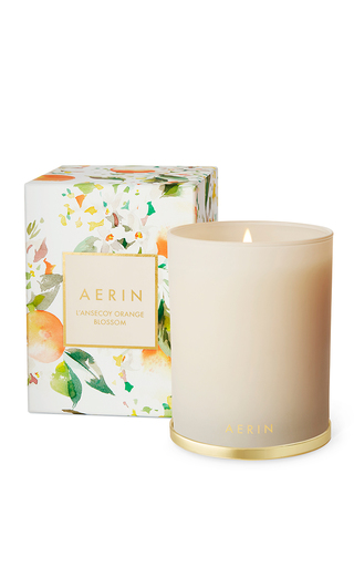 Medium aerin ivory l ansecoy orange blossom scented candle