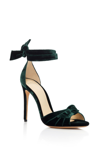 Medium alexandre birman dark green alexandre birman emerald new clarita sandals