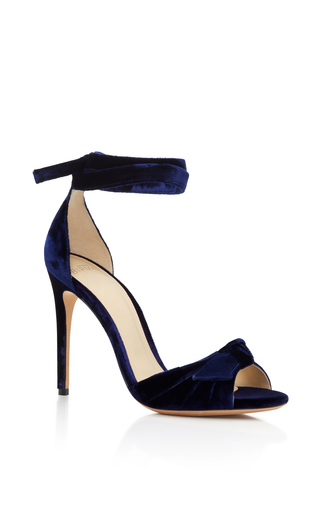 Medium alexandre birman navy alexandre birman midnight new clarita sandals