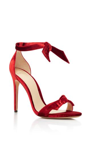 Medium alexandre birman red alexandre birman vino clarita velvet sandals