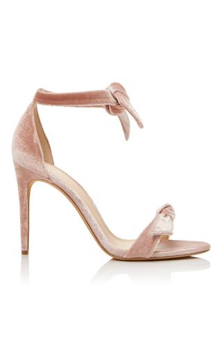 Medium alexandre birman light pink alexandre birman blush clarita velvet sandals