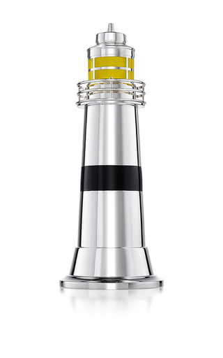 Medium asprey yellow lighthouse cocktail shaker