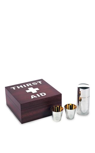 Medium asprey silver thirst aid kit