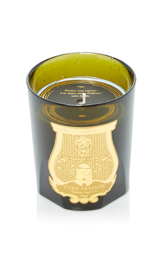 Medium cire trudon green abd el kader candle
