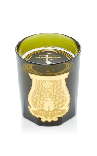 Medium cire trudon green ottoman classic candle