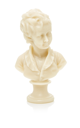 Medium cire trudon light grey alexandre bust