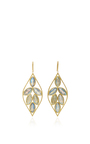 Marquis Earrings With Labradorite by JAMIE WOLF for Preorder on Moda Operandi