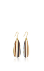 Marquis Element Earrings With Pear Shaped Onyx by JAMIE WOLF for Preorder on Moda Operandi