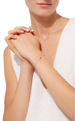 Evil Eye Bracelet With Sapphire And White Diamonds by JAMIE WOLF for Preorder on Moda Operandi