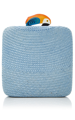 Medium serpui marie blue grazya bun minaudiere