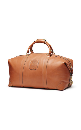 Medium ghurka brown chestnut cavalier ii duffel bag