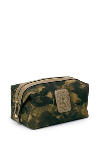 Medium ghurka green camouflage dopp kit