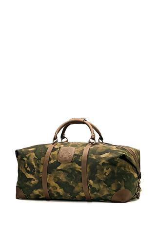 Medium ghurka green camo cavalier iii duffel bag