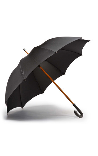 Medium ghurka black gentleman s umbrella