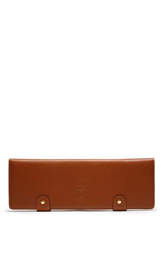 Medium ghurka brown tie case