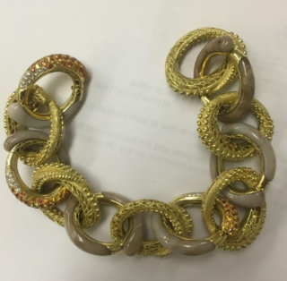 Medium nicholas varney brown octopus bracelet