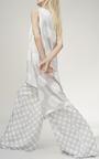 Dot Print Silk Tunic by PAPER LONDON for Preorder on Moda Operandi