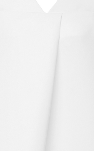 Structured Dress With Ruffle Bottom by PAPER LONDON for Preorder on Moda Operandi