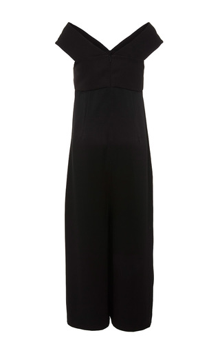 Cropped Mary Jumpsuit  by PAPER LONDON for Preorder on Moda Operandi