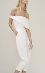 Geometric Off The Shoulder Top by PAPER LONDON for Preorder on Moda Operandi