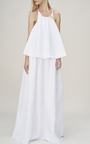 Tiered Maxi Dress by PAPER LONDON for Preorder on Moda Operandi