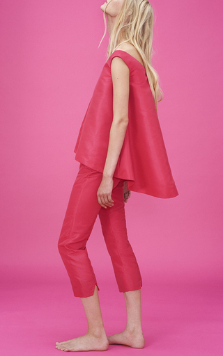 Cropped Noix Pants by PAPER LONDON for Preorder on Moda Operandi