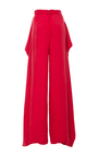 Arizona Pant With Side Drape  by PAPER LONDON for Preorder on Moda Operandi