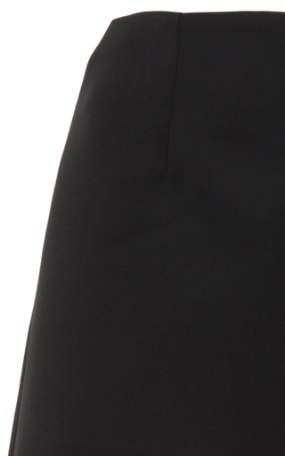 High Waist Flared Capris by PAPER LONDON for Preorder on Moda Operandi