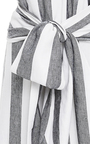Striped Wide Leg Jumpsuit  by PAPER LONDON for Preorder on Moda Operandi