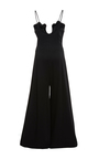 Jumpsuit With Scalloped Neckline by PAPER LONDON for Preorder on Moda Operandi
