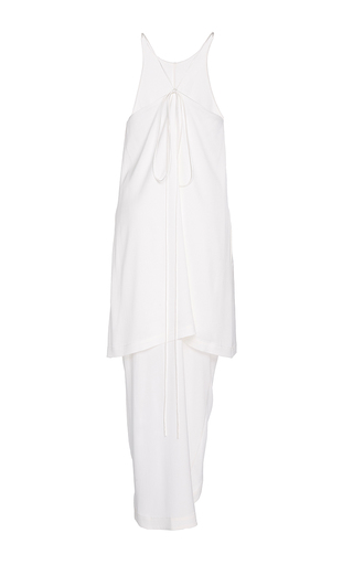 Layered Silk Dress by PAPER LONDON for Preorder on Moda Operandi