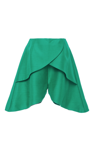Layered Petal Shorts by PAPER LONDON for Preorder on Moda Operandi