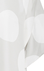 Slit Sleeves Dot Top by PAPER LONDON for Preorder on Moda Operandi