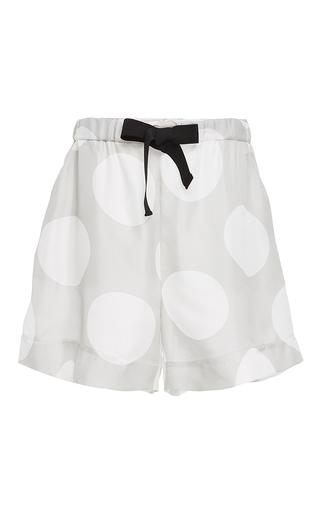 Spot Drawstring Shorts by PAPER LONDON for Preorder on Moda Operandi
