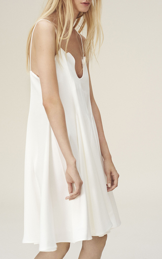 Petal Edged Tank Dress by PAPER LONDON for Preorder on Moda Operandi