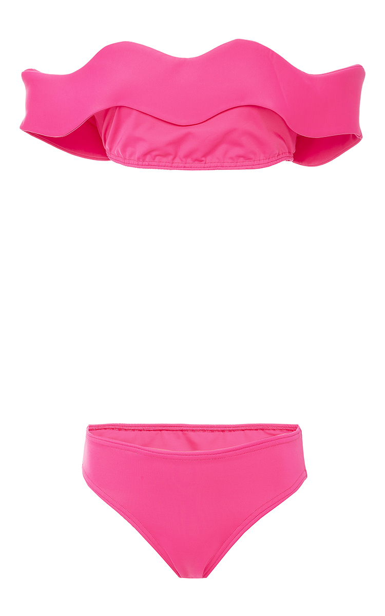 Wave off-shoulder bikini Paper London Best Prices Outlet Where To Buy Websites Cheap Price Discounts Online WdStik