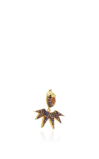 Pow Wow Ear Jacket  by DANIELA VILLEGAS Now Available on Moda Operandi