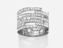 Ring C11 Collection Ii  by MAISON DAUPHIN for Preorder on Moda Operandi