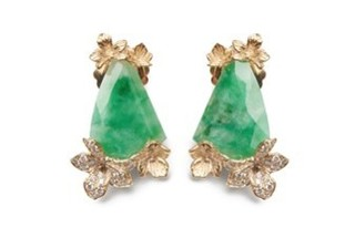 Viola Canadensis Animated Earring by JORDAN ASKILL for Preorder on Moda Operandi