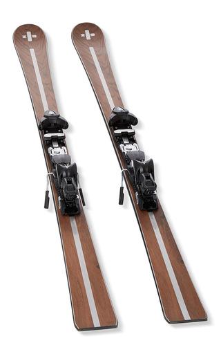 Medium zai brown testa skis