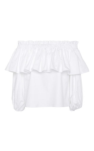 Medium alexis white barbie white off the shoulder top