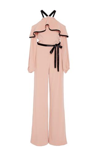 Medium alexis pink nola cold shoulder jumpsuit