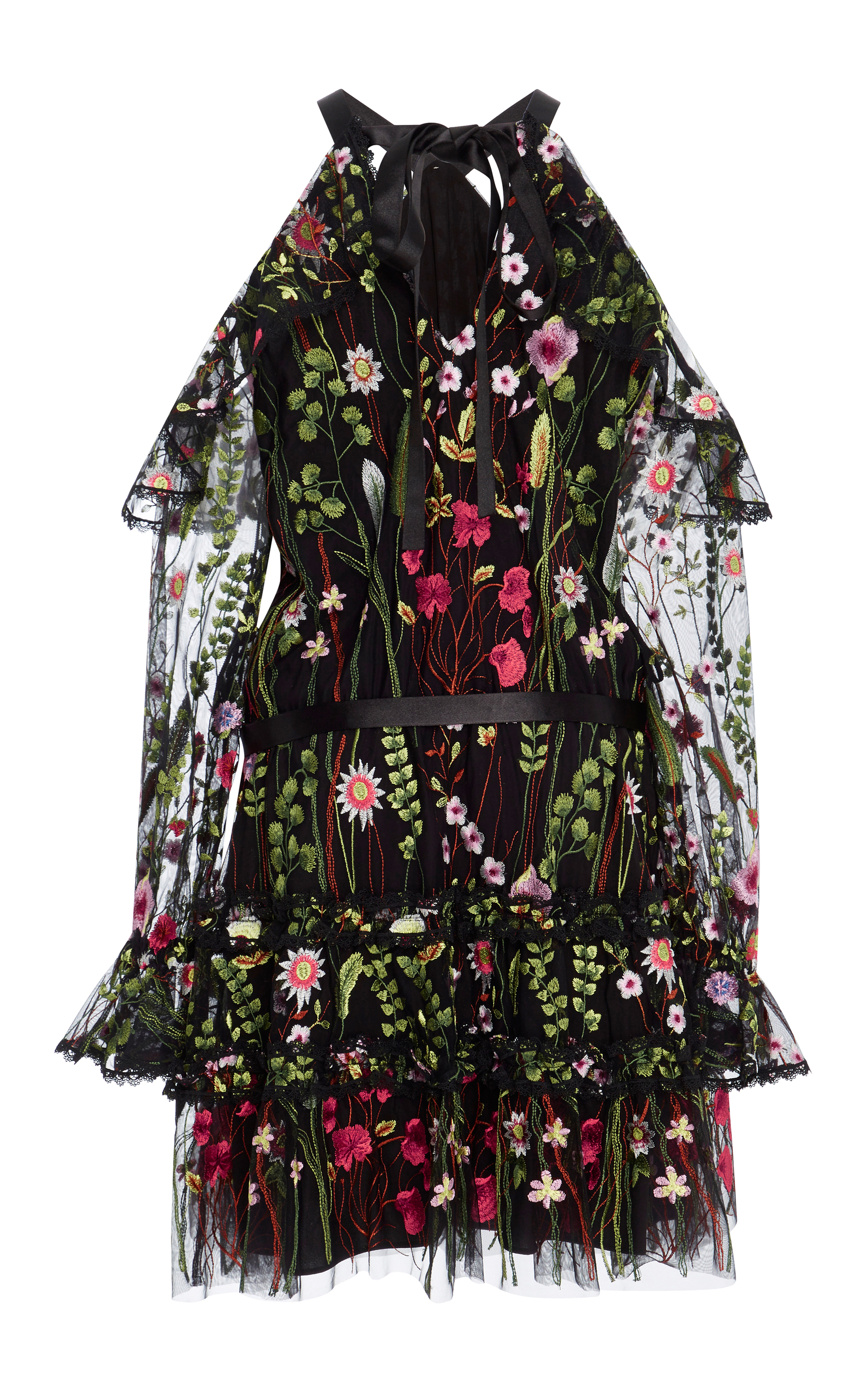 Adeline Floral Embroidered Dress By Alexis Moda Operandi