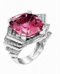 Medium lorenz baumer purple cascade ring