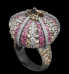 Oursin Ring by LORENZ BAUMER for Preorder on Moda Operandi