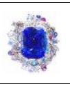 Medium anna hu blue siren s aria collection siren s aria ring in tanzanite