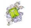 Athena's Laurel Collection  Athena's Laurel Ring In Peridot by ANNA HU HAUTE JOAILLERIE for Preorder on Moda Operandi