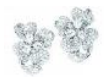 Duchess Hibiscus Collection   Duchess Hibiscus Earrings In Diamond by ANNA HU HAUTE JOAILLERIE for Preorder on Moda Operandi